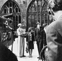 Rev Simon Phipps shows 'The Sunday Break' around Coventry Cathedral