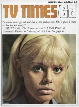 Britt Ekland in A Cold Peace