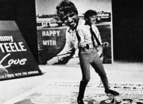 Tommy Steele appears on 'Thank Your Lucky Stars'