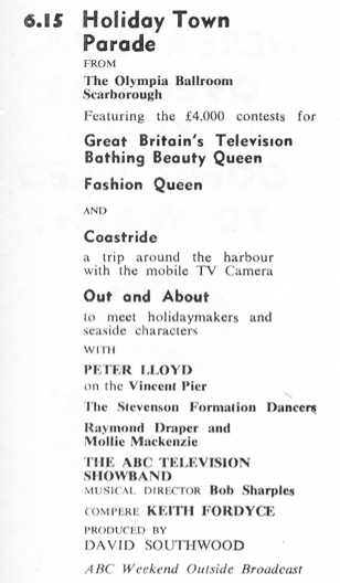 TVTimes for the North, w/c 16 September 1962