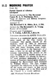 TVTimes for the Midlands w/c 21 November 1965