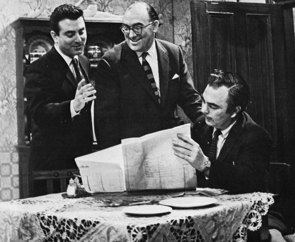 Brian Tesler, Howard Thomas and Sydney Newman