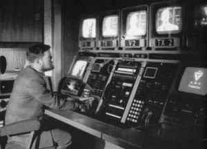 The control room at Teddington
