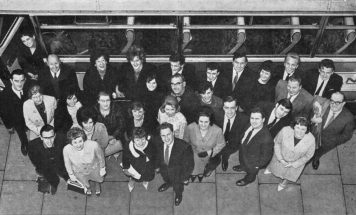 Members of the Alpha Sports and Social Club