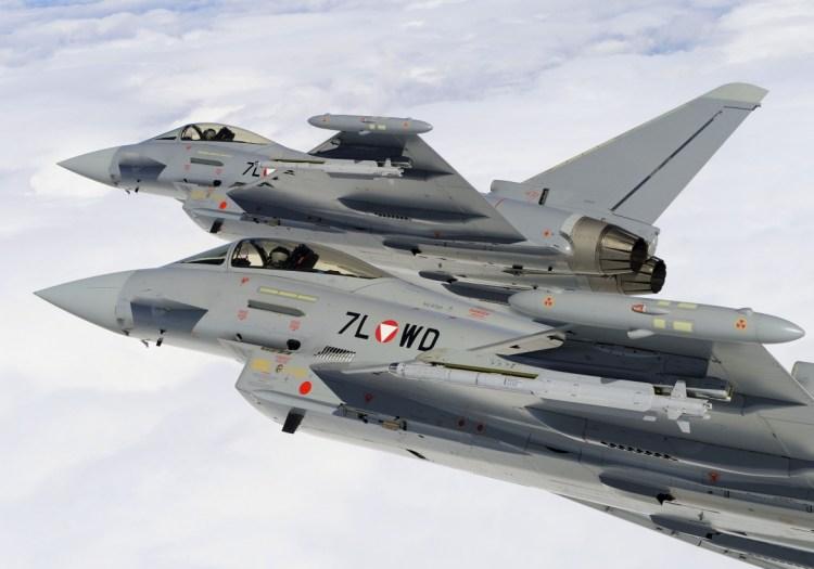 Resultado de imagen para austria eurofighter