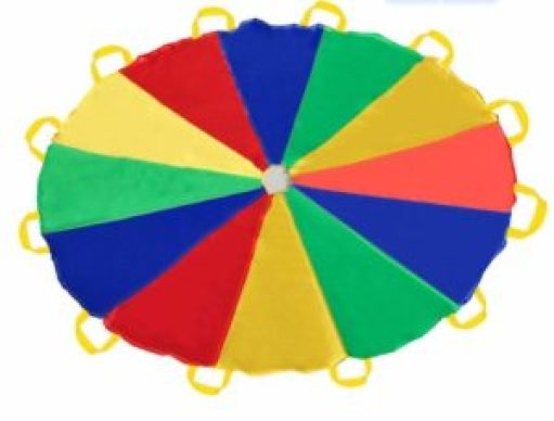 Small Parachute Team Building Games Physical Education