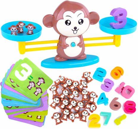 Math Monkey Balancing Toy