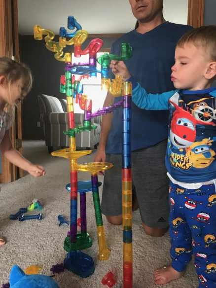 Marble Run STEM engineering toy