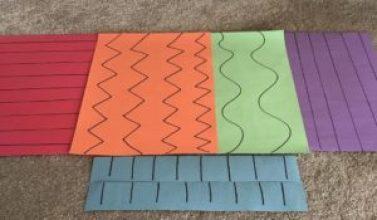 construction paper scissor skills practice sheets
