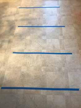 4 line painters tape indoor activity for kids
