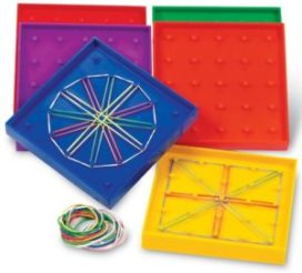 geoboards for math and language for kids