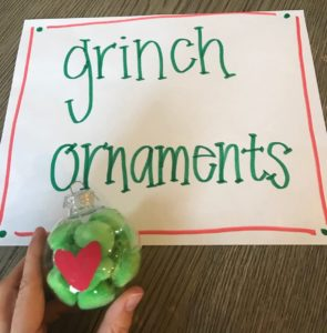 grinch ornaments for kids craft