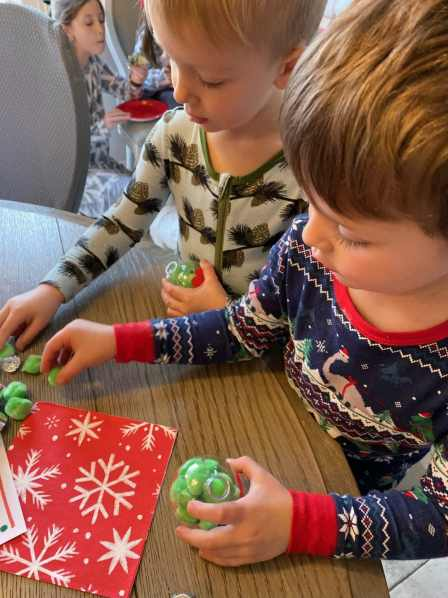 Grinch ornament christmas activity