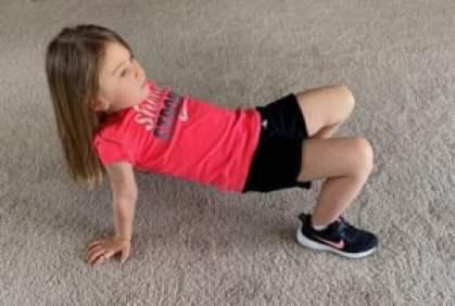 crab walk position for kids