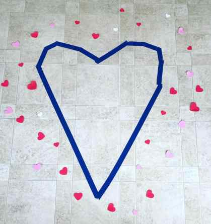 sweeping hearts activity
