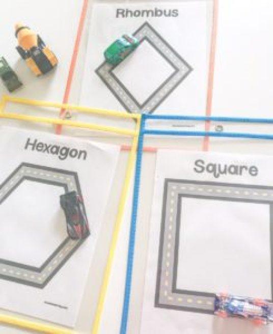 road shape mat
