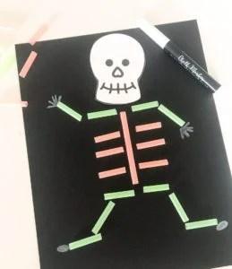 straw skeleton