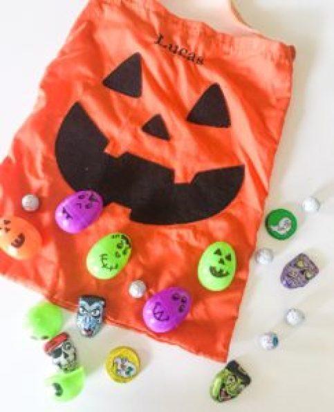egg halloween hunt