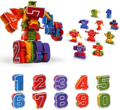 number robots