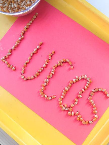 corn name activity