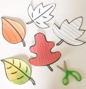 cutting leaves