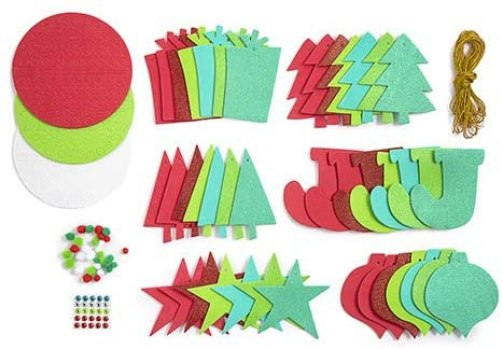 foam Christmas shapes