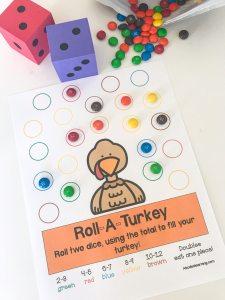 roll a turkey game