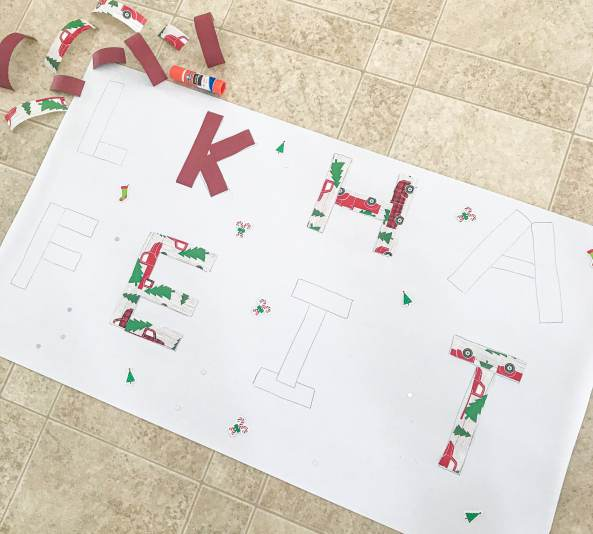 alphabet wrapping activity