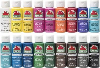 acylic paint set