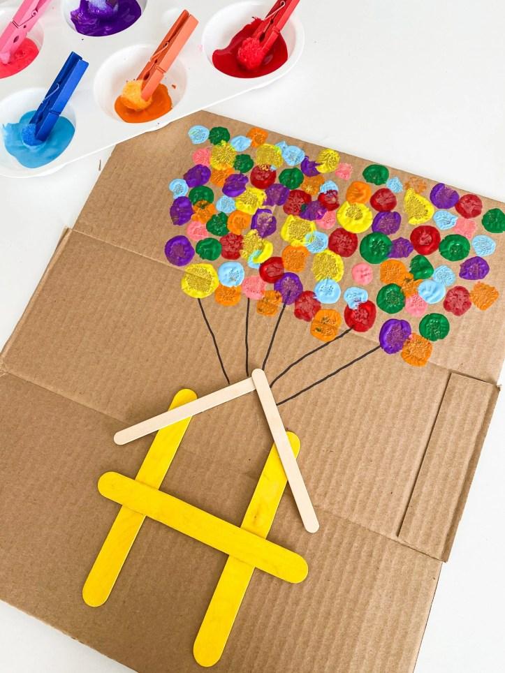 up letter H craft
