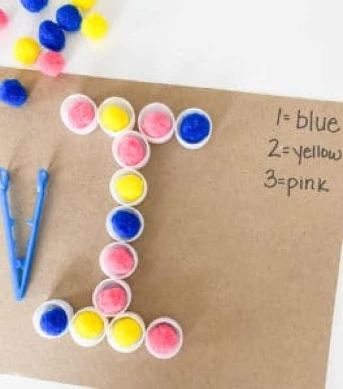 letter I color coding