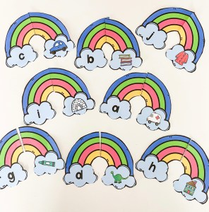 rainbow beginning sonds puzzle