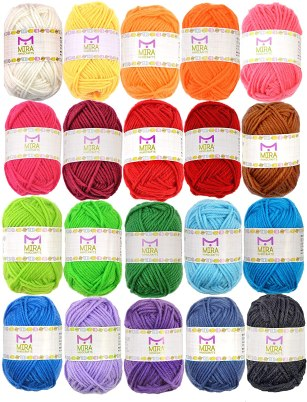 colored yarn