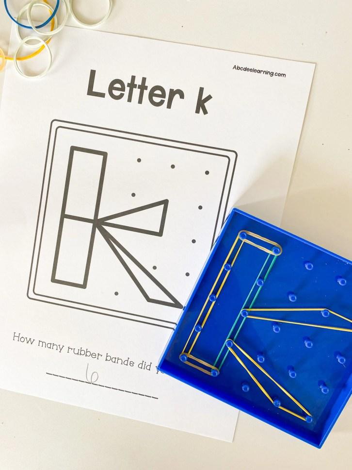 geoboard letters