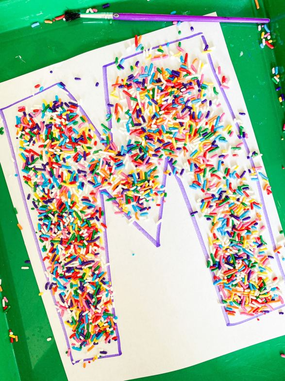 Sprinkle letter sweep