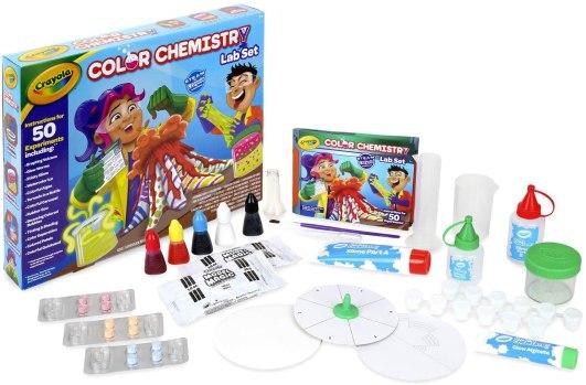 color chemistry set