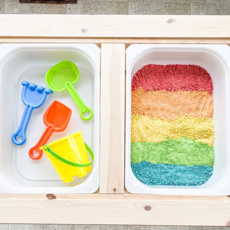 edible sand for kids