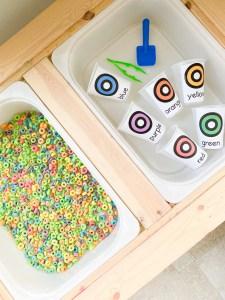 fruit loop color sort