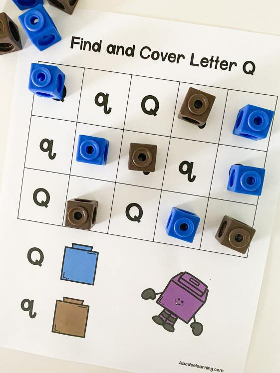 find and cover letter q