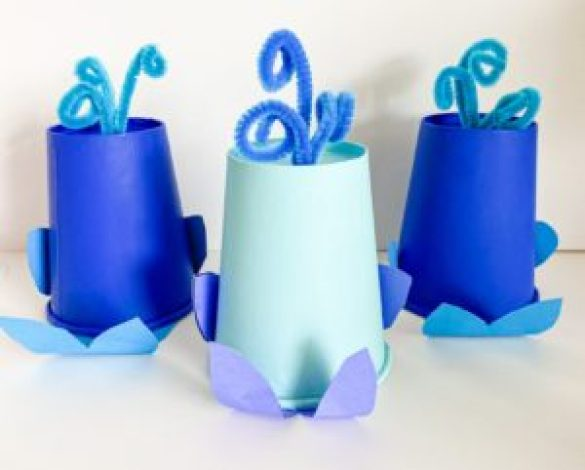 whale cup craft