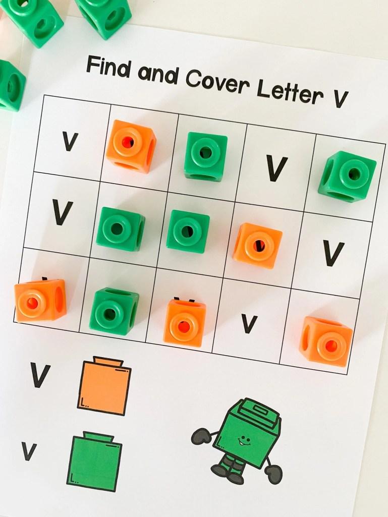 find and cover letter v