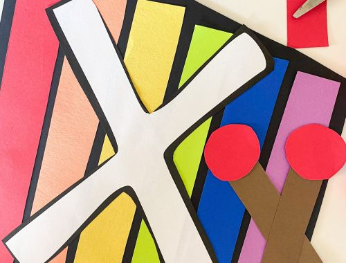 letter x xylophone craft