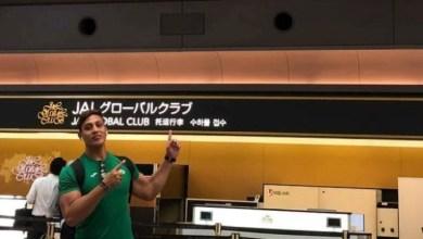 Photo of David Ocampo Bravo, realiza un campamento en Japón