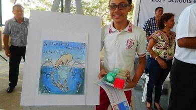 Photo of Alumno de la técnica 186 recibe premio nacional de dibujo ambiental