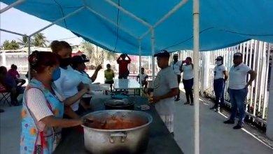 Photo of Instalan comedor comunitario en Bajos del Ejido con apoyo de los mismos lugareños