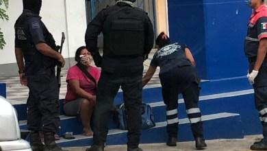 Photo of Pareja en estado de ebriedad pelean en plena calle cerca del Fovissste