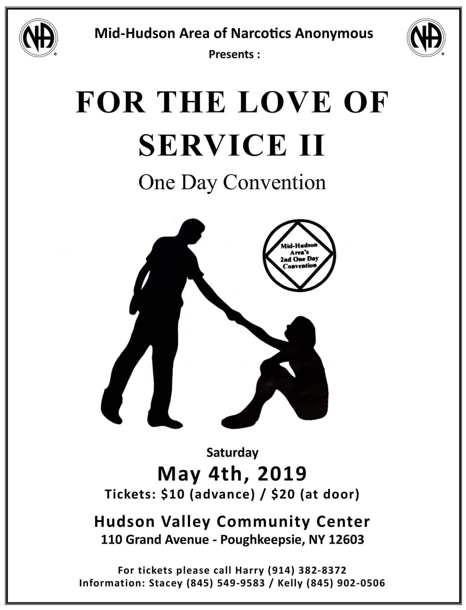 For the Love of Service 2 - One Day Convention @ Hudson Valley Community Center | Poughkeepsie | New York | United States