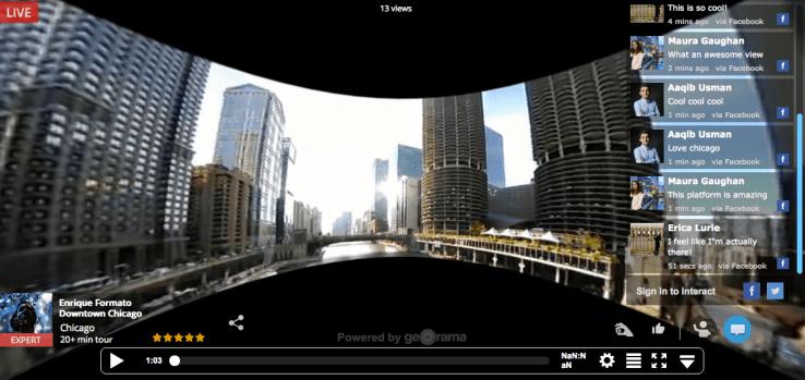 Georama - Virtual Reality Sample Pic