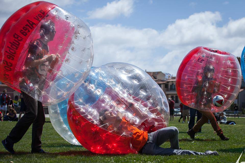 Bubble Soccer hosted by SF Deltas