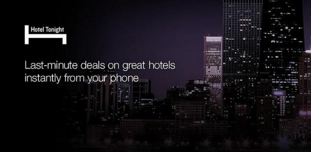 Last minute hotel app image